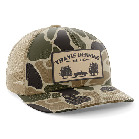 1992 Camo Patch Trucker Hat
