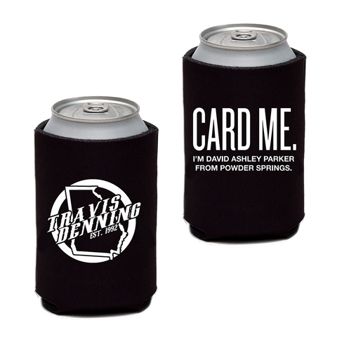 David Ashley Parker Card Me Can Insulator Black