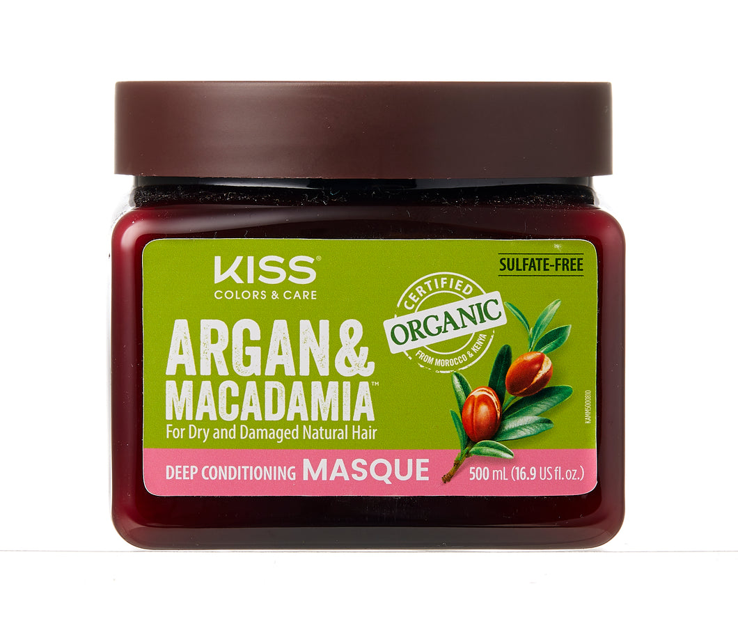 Argan & Macadamia Deep Conditioning Masque