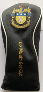 Crested Headcover Black