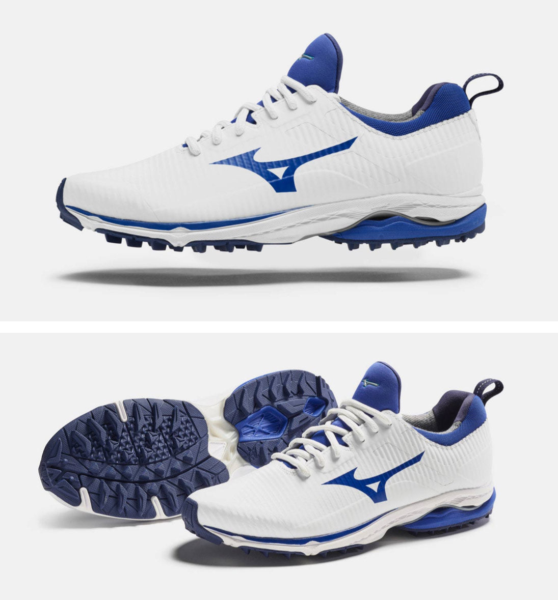 Wave Cadence Spikeless White Mizuno Gents Shoes