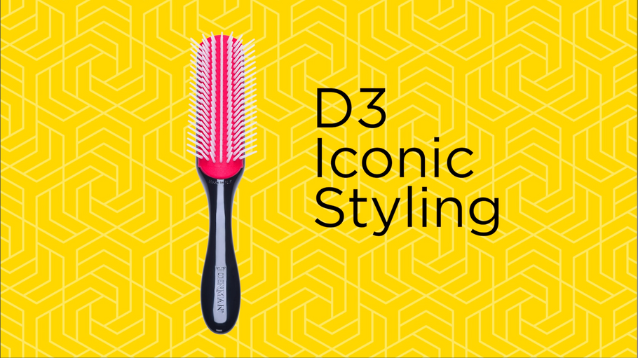 D3 for blow drying short hair