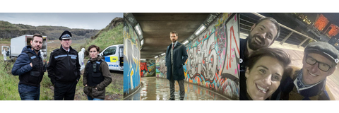 Line Of Duty - Filming in Northern Ireland (Home of Denman Brushes)