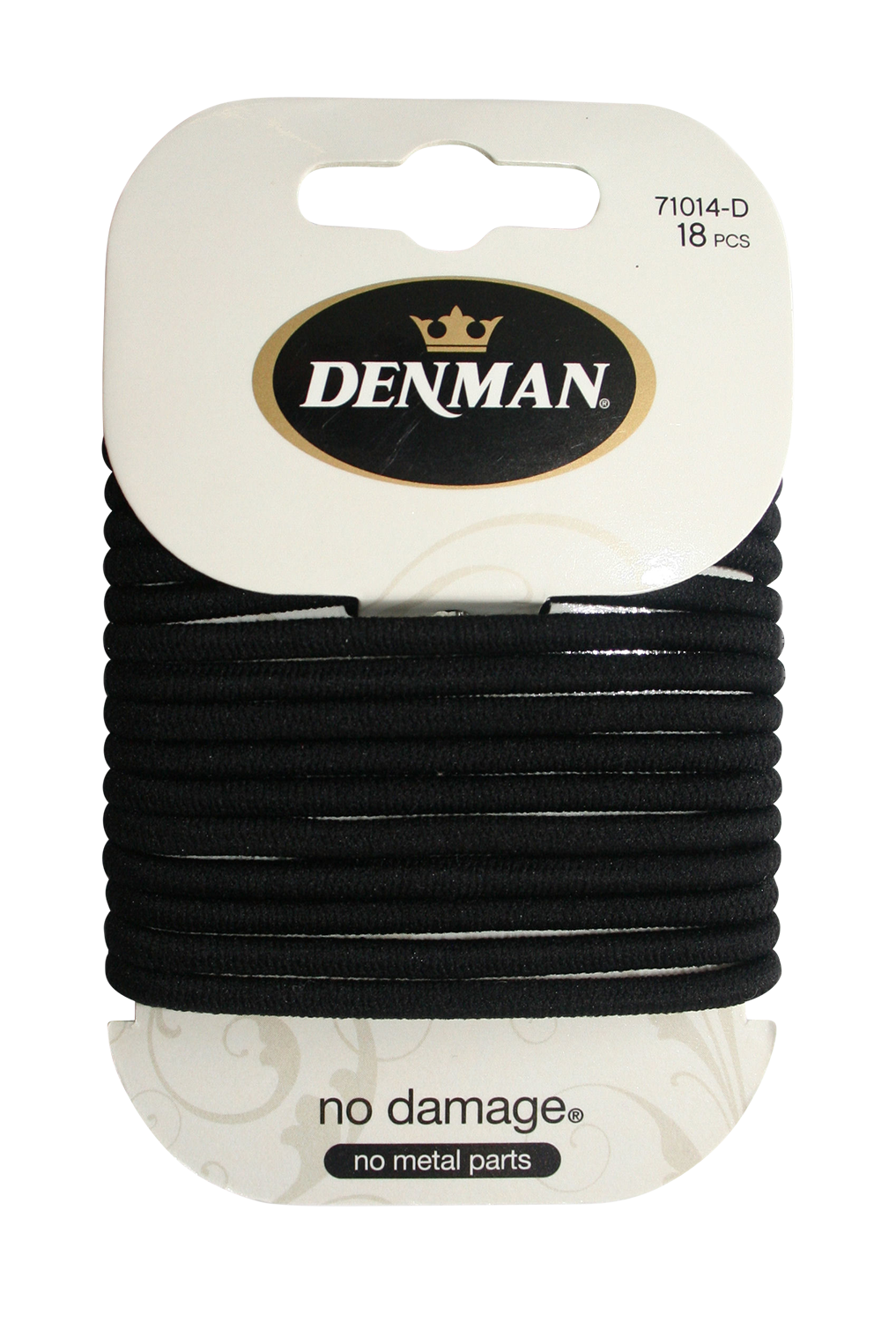 Large Black No Damage Elastics