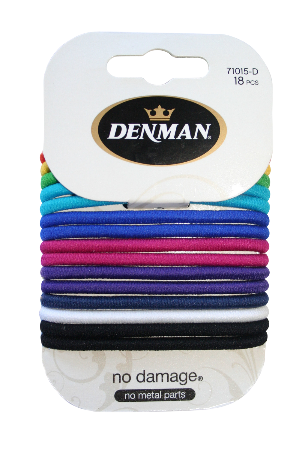 Large Coloured No Damage Elastics