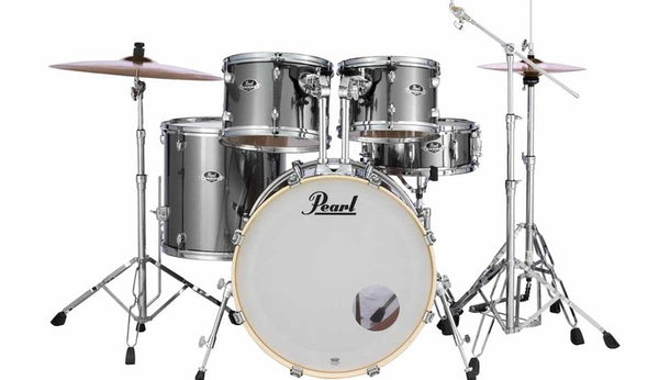 Pearl Export EXX705 Smokey Chrome mit Spezialbecken