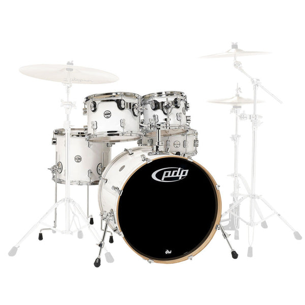 PDP by DW Concept Maple Pearlescent White inkl. Hardware