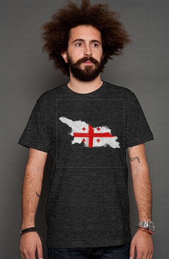T-shirt with map of Georgia