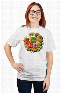 T-shirt with traditional Ukrainian ornament