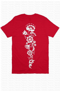 T-shirt with Ukrainian national Ornament