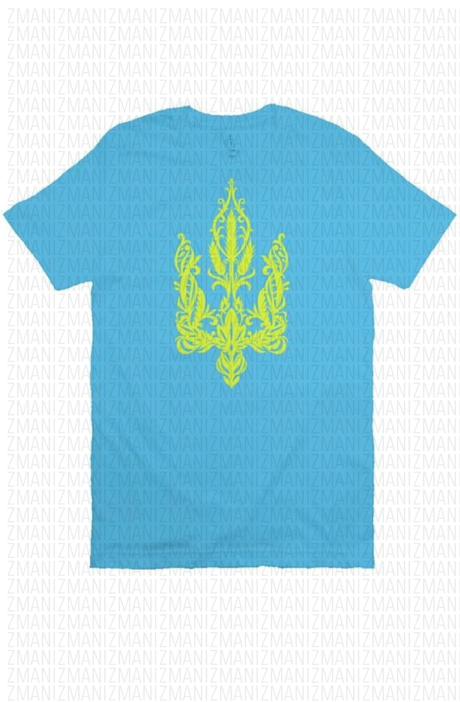 T-shirt with Ukrainian Trident