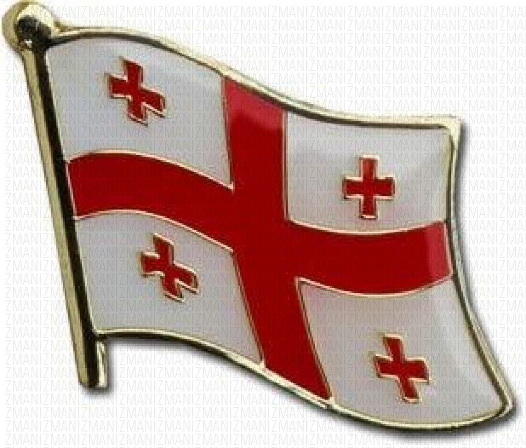Republic of Georgia Flag Lapel Pin