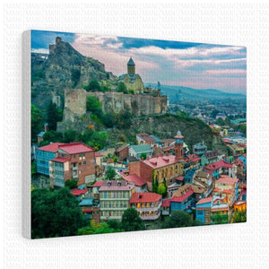 Old Tbilisi Stretched canvas