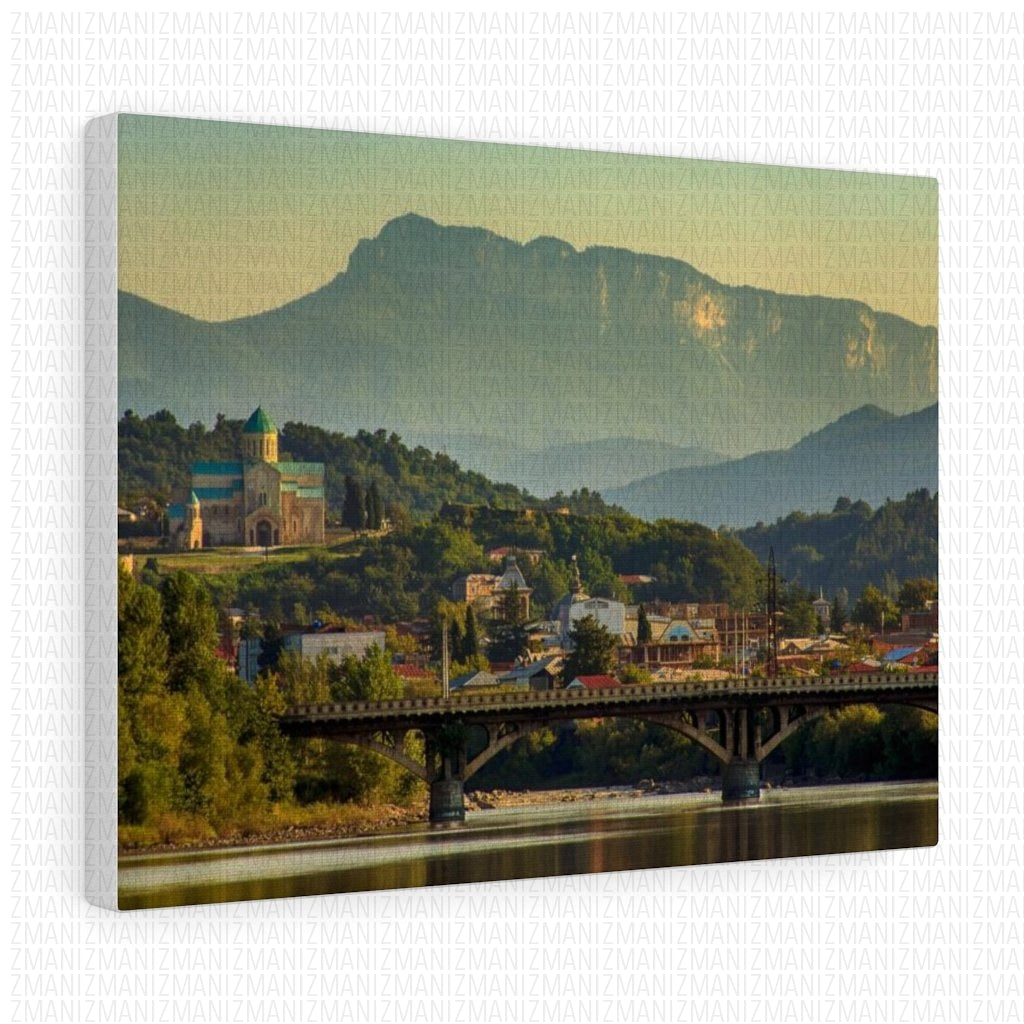 City of Kutaisi Stretched canvas