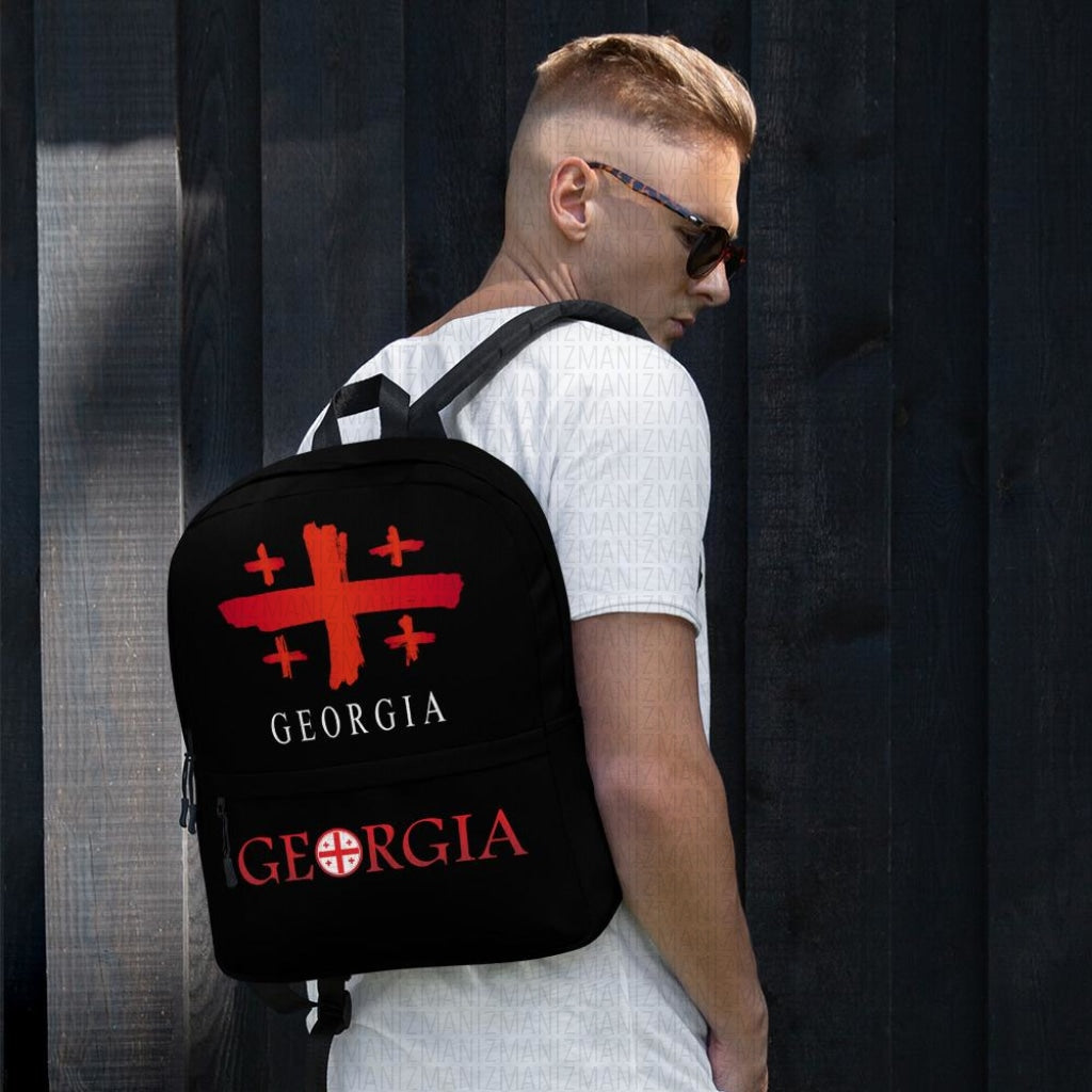 Backpack with Georgian Flag