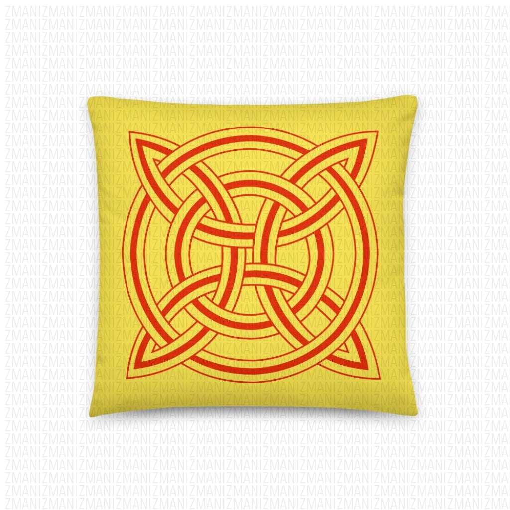 Basic Pillow with Georgian ornament