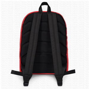 Backpack with Georgian alphabet