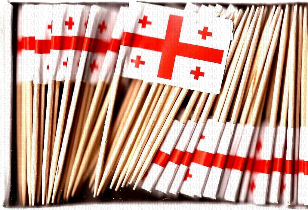 Republic of Georgia Flag Toothpicks