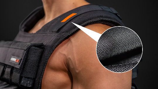 Comme Vest - Weight vests by Commelab Singapore made from CORDURA nylon