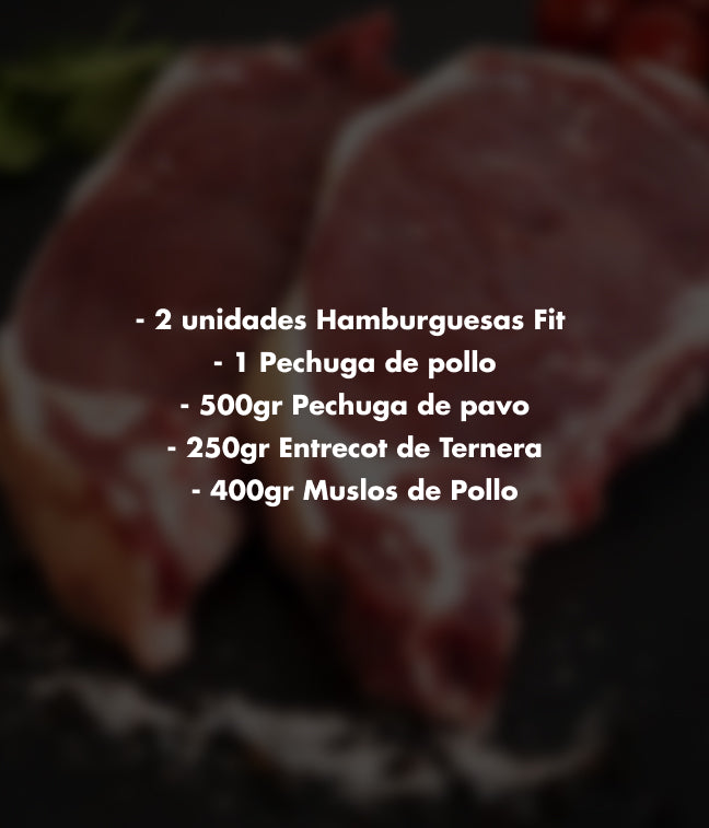 PACK DE BARBACOA FIT