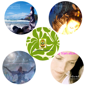 Line To Line To Divine, Voice Of The Goddess, Celestial Sound Healing Voyage, All Is Well, Hari Om 5 CD Bundle