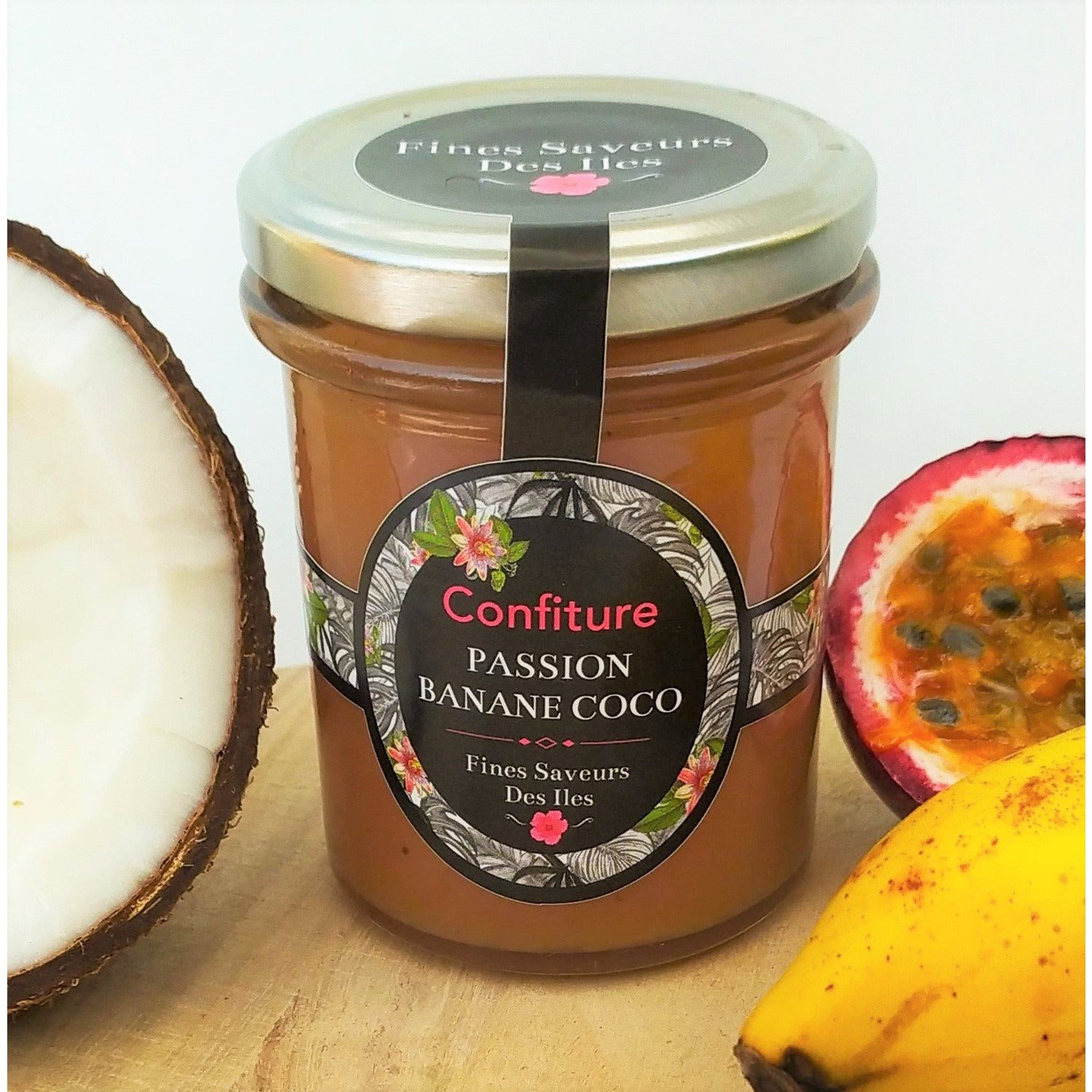 Confiture Passion Banane Coco
