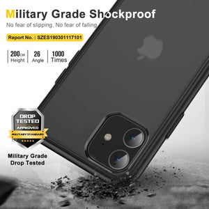 Humixx Shockproof 11 Case for 6.1 Inch-Black