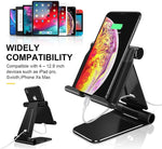 Load image into Gallery viewer, Humixx - Tablet Stand - Foldable & Adjustable Desktop Tablet Stand Holder