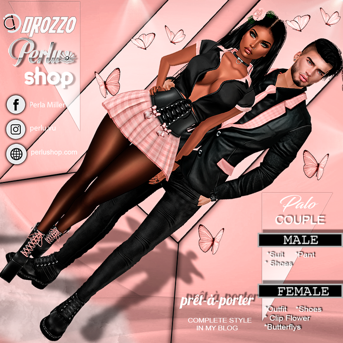 PALO COUPLE OUTFIT - PERLU | DROZZO SHOP