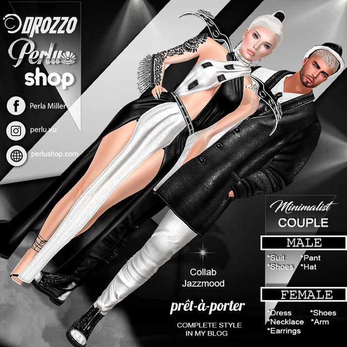 MINIMALIST COUPLE BUNDLE - PERLU | DROZZO SHOP