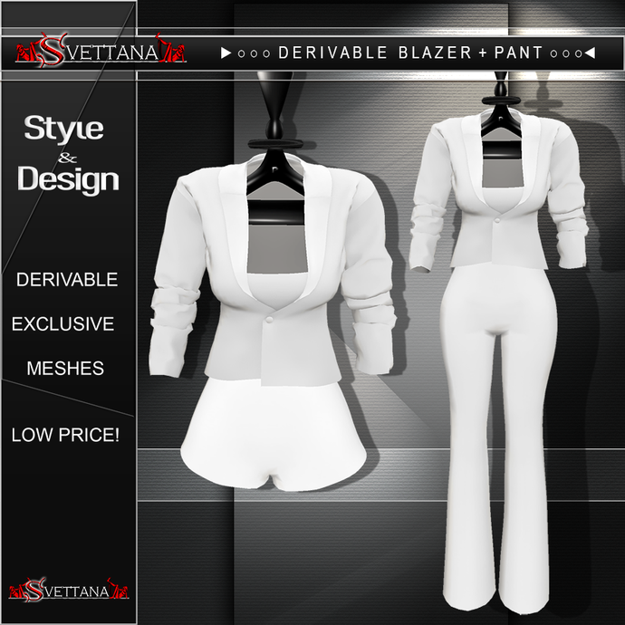 DERIVABLE BLAZER | SKIRT | PANT - SVETTANA SHOP