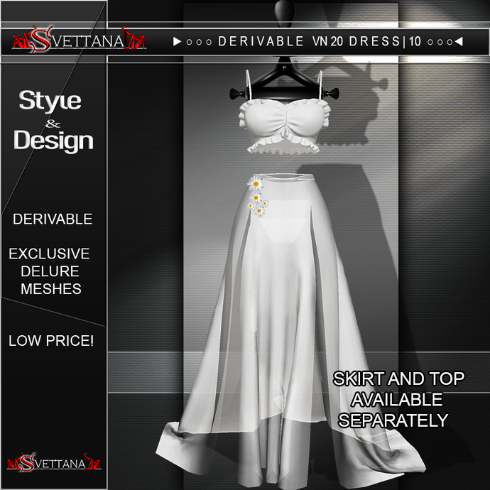 DERIVABLE VN 20 DRESS | 10