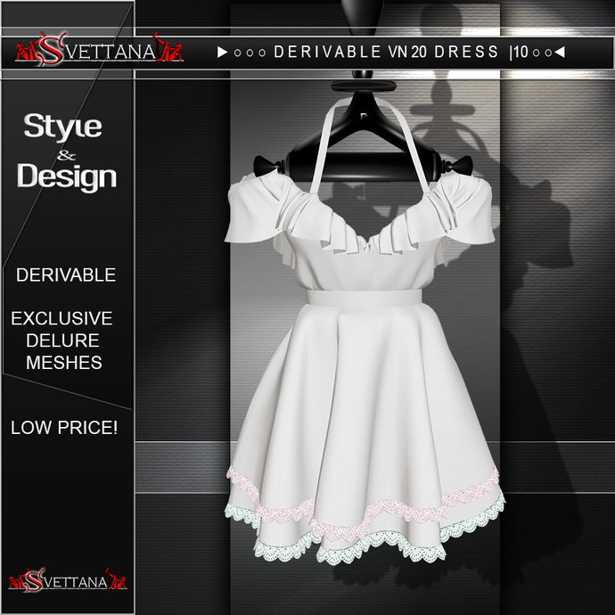 DERIVAVLE VN20 DRESS |10 | 11  -  SVETTANA SHOP