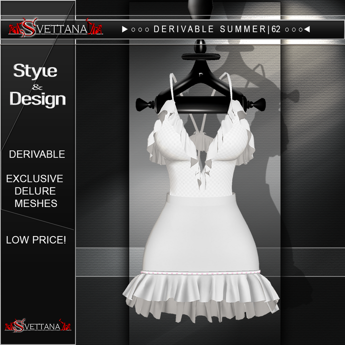 DERIVABLE SUMMER |62 - SVETTANA SHOP