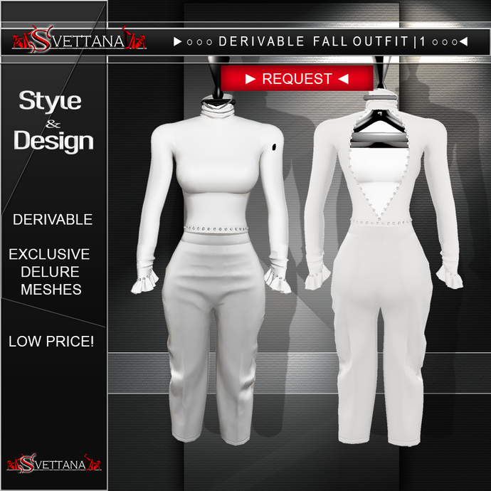 DERIVABLE FALL OUTFIT |1 - SVETTANA SHOP