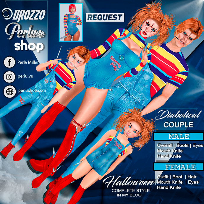 DIABOLICAL COUPLE BUNDLE - PERLU | DROZZO SHOP