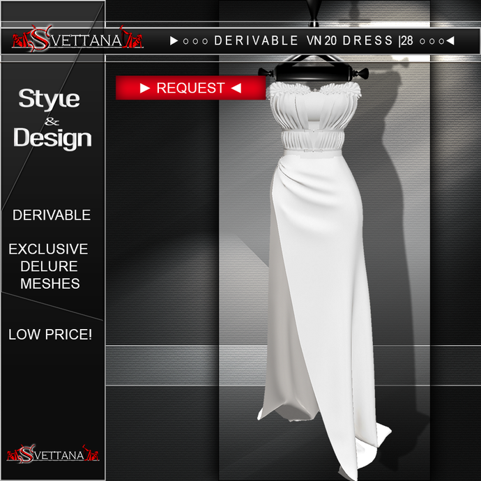 DERIVABLE VN20 DRESS |28 - SVETTANA SHOP