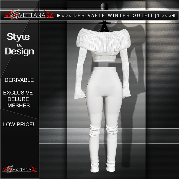 DERIVABLE  WINTER OUTFIT | 1 - SVETTANA SHOP