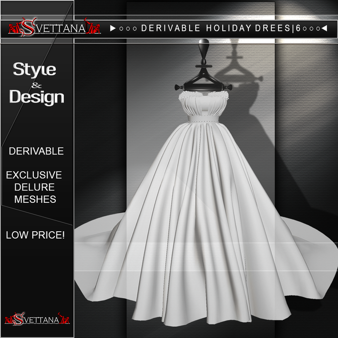 DERIVABLE HOLIDAY DRESS |6  - SVETTANA SHOP