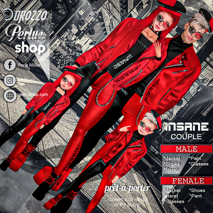 INSANE COUPLE BUNDLE - PERLU | DROZZO SHOP