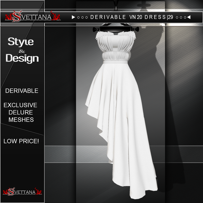 DERIVABLE VN20 DRESS |29  - SVETTANA SHOP