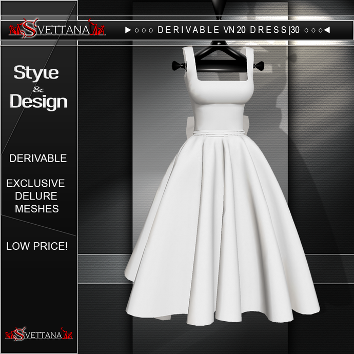 DERIVABLE VN20 DRESS |30 - SVETTANA SHOP
