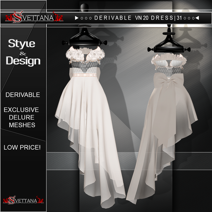 DERIVABLE VN20 DRESS |31 - SVETTANA SHOP