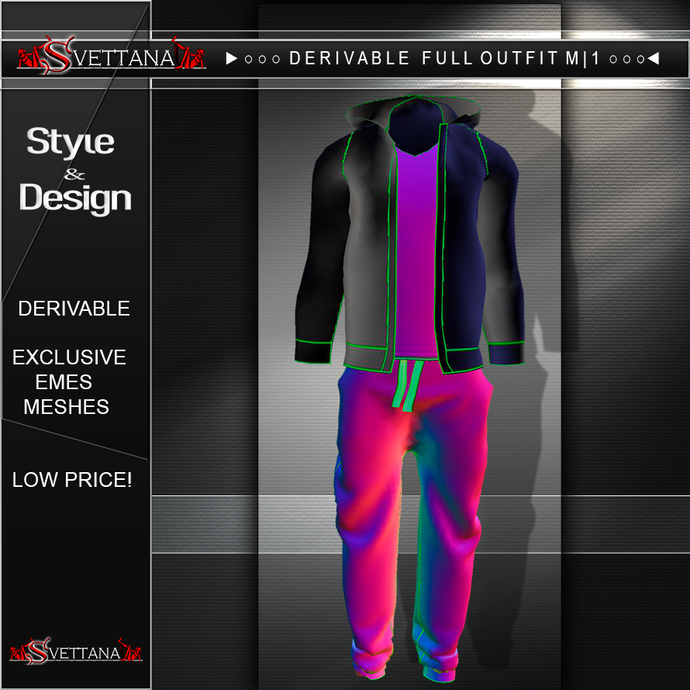 DERIVABLE FULL OUTFIT M |1 - SVETTANA SHOP