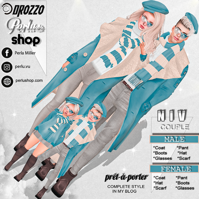 NIV COUPLE BUNDLE  -  PERLU | DROZZO SHOP