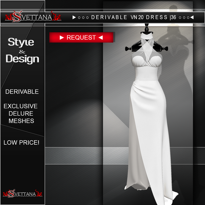 DERIVABLE VN 20 DRESS |36 - SVETTANA SHOP
