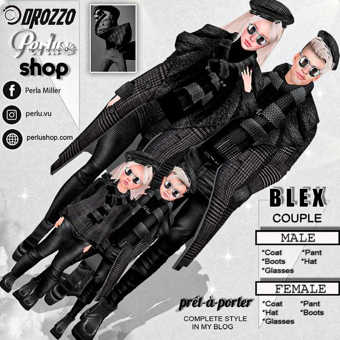 BLEX COUPLE BUNDLE - PERLU | DROZZO SHOP