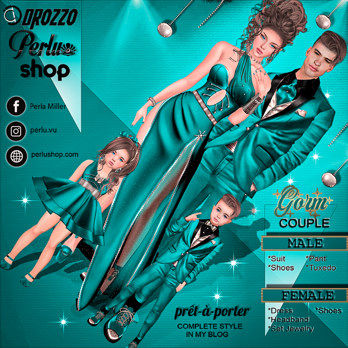 VIRI COUPLE BUNDLE - PERLU | DROZZO SHOP