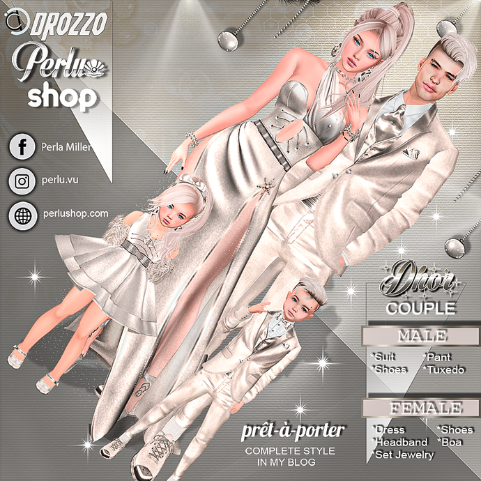 DHOR COUPLE BUNDLE - PERLU | DROZZO SHOP