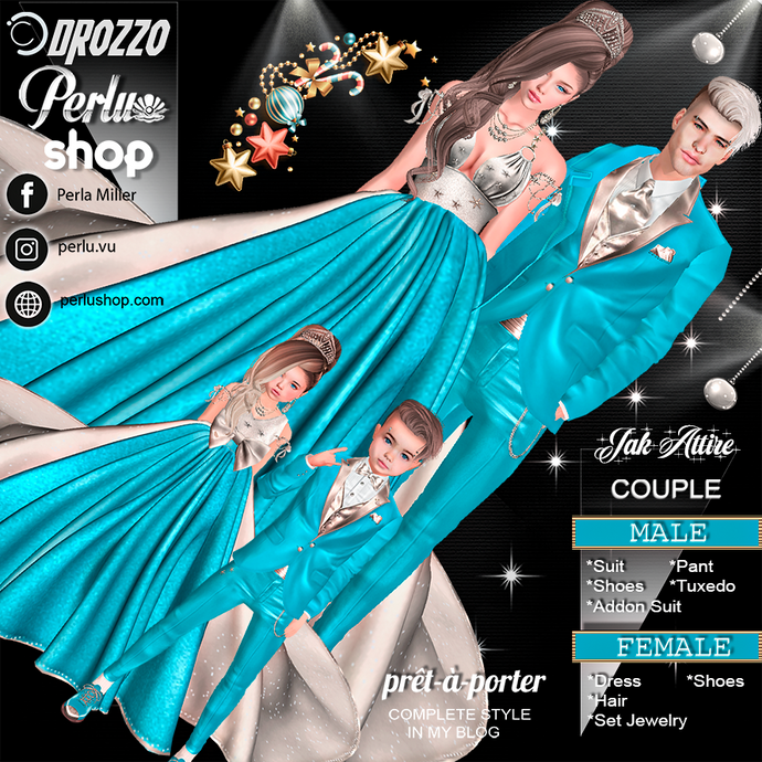 JAK COUPLE BUNDLE - PERLU | DROZZO SHOP